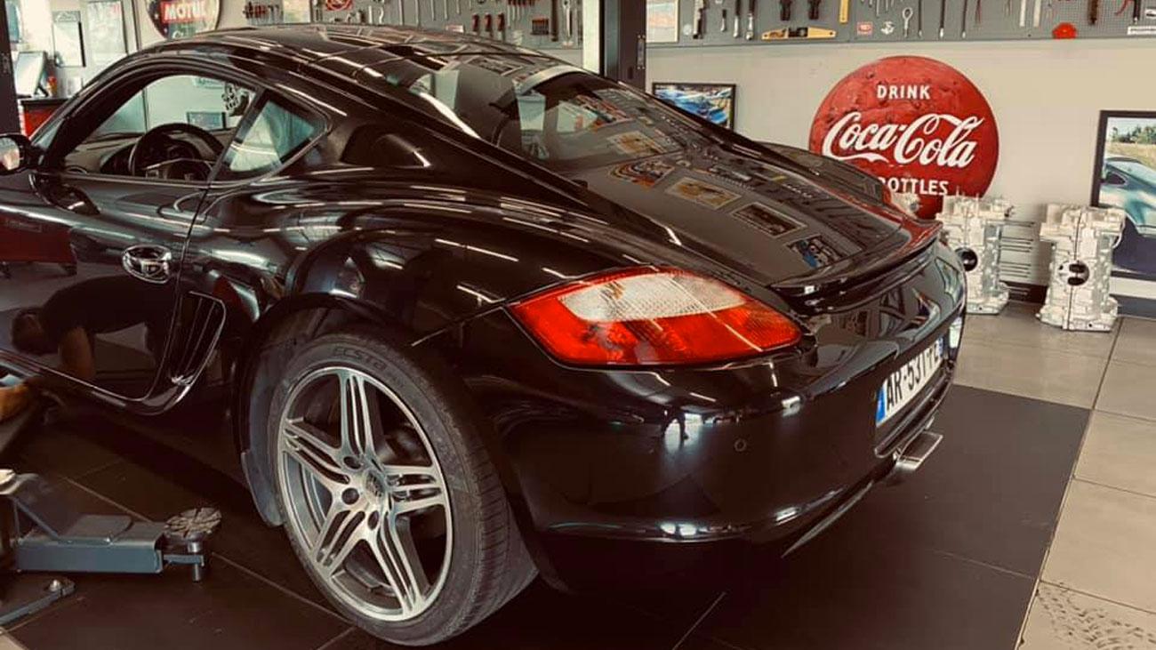 Garage Porsche Anould